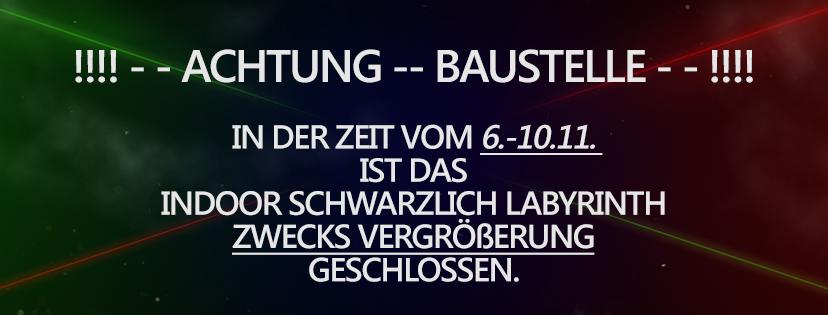 Lasertag-Baustelle-Laserwerk
