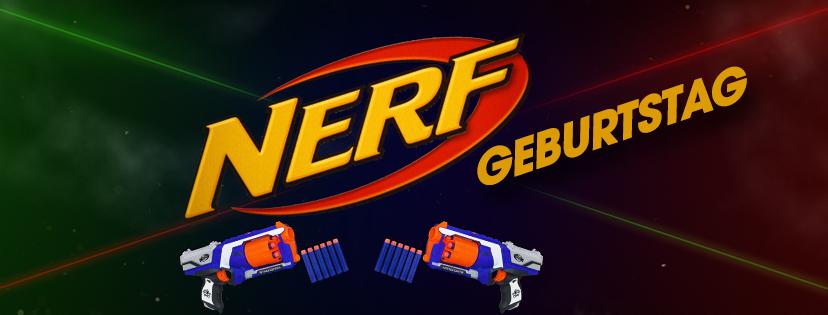 Nerf-Geburtstag